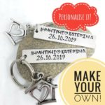 make your own personalised keyring